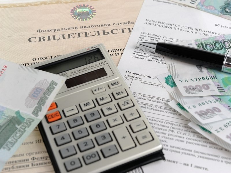 Уплата различных налогов государству