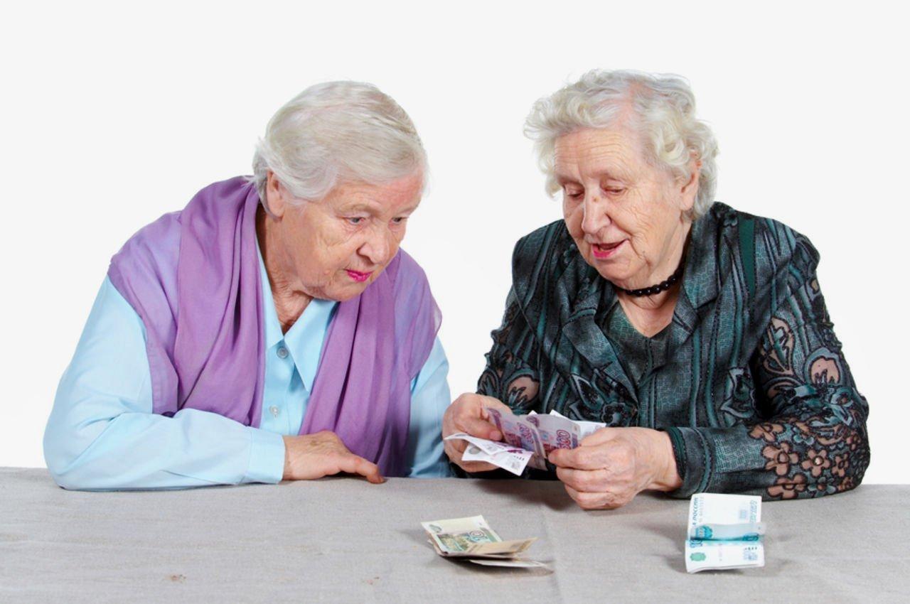Пенсионер перечисляет взносы