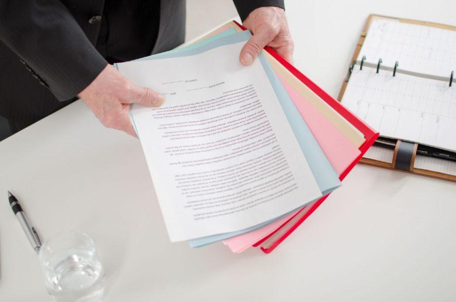 Заполнить листы заявления